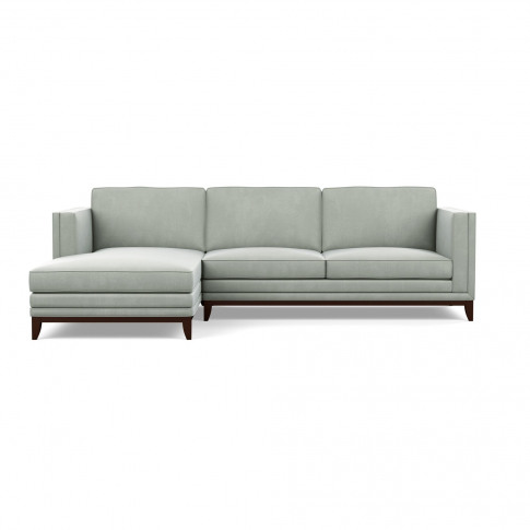 Meadway L-Shaped Sofa - Left Hand Chaise - Velvet