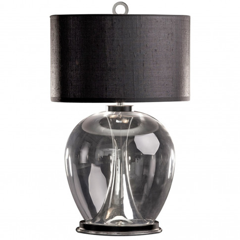 Rosendale Wide Table Lamp - Dutch Silver
