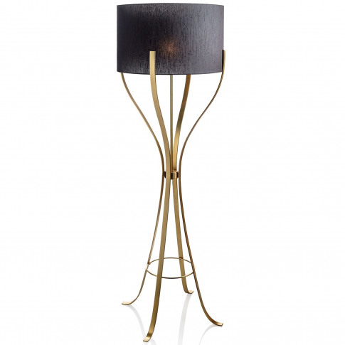 Lisbon To Moscow Floor Lamp Gold