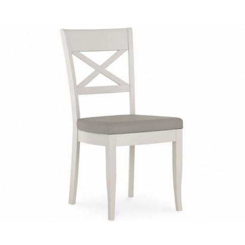 Montreux Soft Grey Slatted Dining Chair