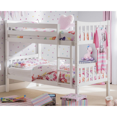 Scorpio White Bunk Bed bunk bed only