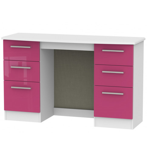 Kati Pink Girls Double Dressing Table dressing table...