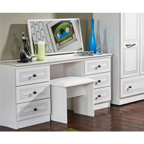 Henlow Double Dressing Table double dressing table o...