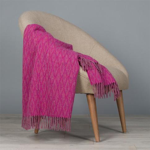Magee 1866 Pink & Purple Wigwam Throw