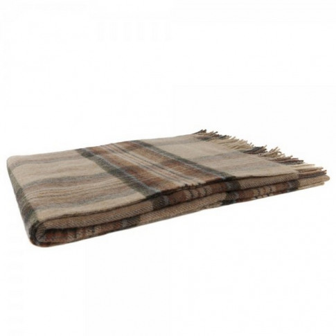 Magee 1866 Willow - Large Camel, Grey, Rust & Blue P...