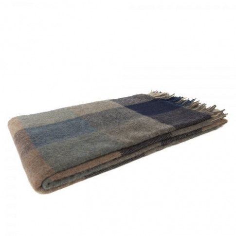 Magee 1866 Willow - Large Grey, Blue & Cream Patchwo...