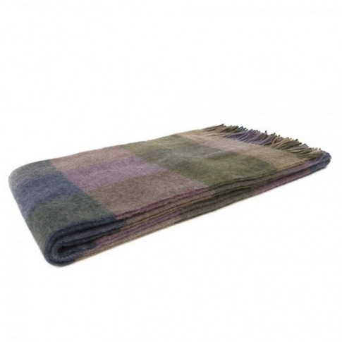 Magee 1866 Willow - Large Lovat Green, Purple & Came...