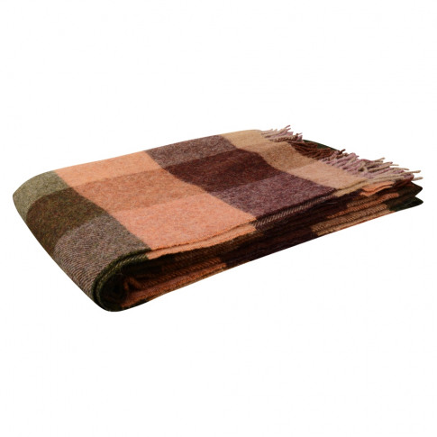 Magee 1866 Willow - Large Brown, Salmon, Beige Patch...