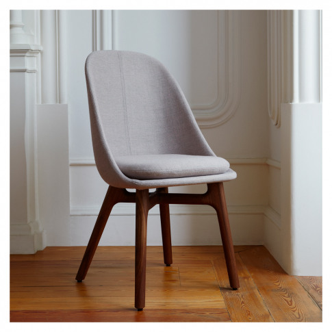 Solo Dining Chair Walnut