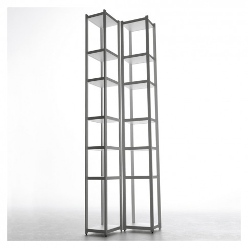 Singles Bookcase White