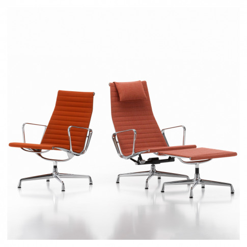 Ea116 Swivel Lounge Chair Hopsak Fabric
