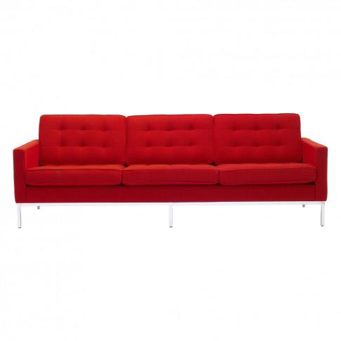 Florence Knoll 3-Seat Sofa Cato Fabric