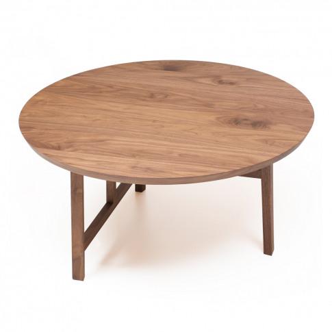 Trio Coffee Table Black Walnut