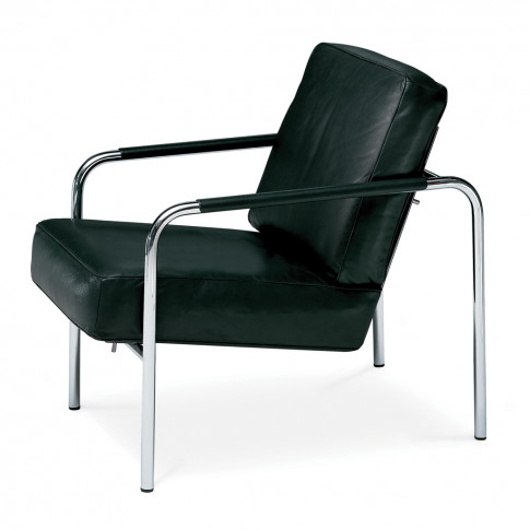 Susanna Armchair Chrome Frame & Leather
