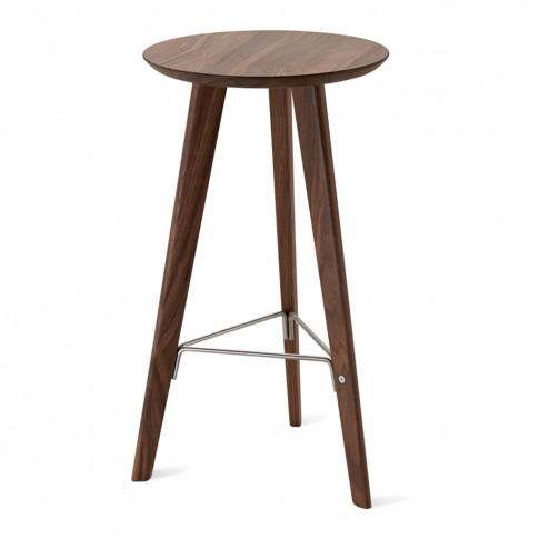 Ido Stool Canaletto Walnut Tall