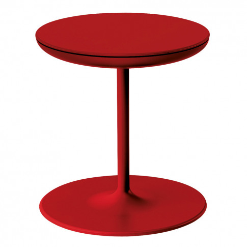Toi Side Table 360 Rotate Red