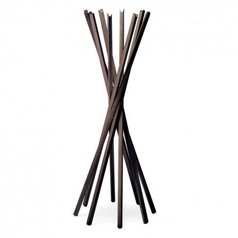 Sciangai Coat Stand Wenge-Stained Oak