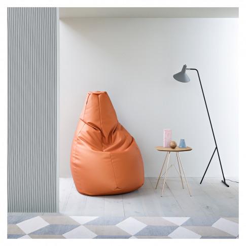 Large Sacco 280 Bean Bag In Orange