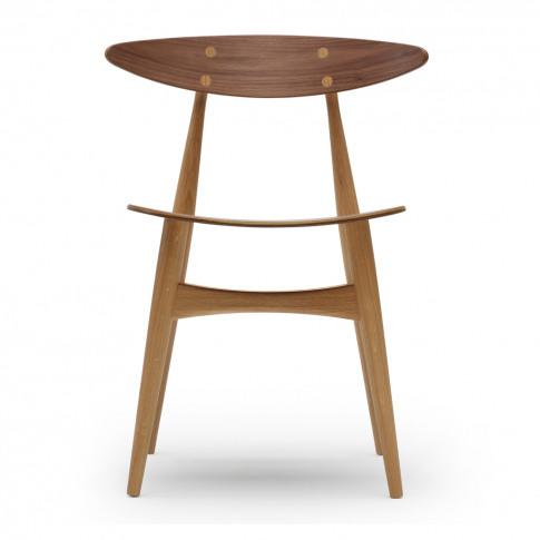 Ch33t Dining Chair Oiled Walnut & Oak