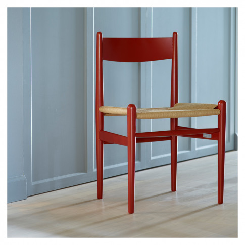 Ch36 Dining Chair Beech & Natural Paper Cord