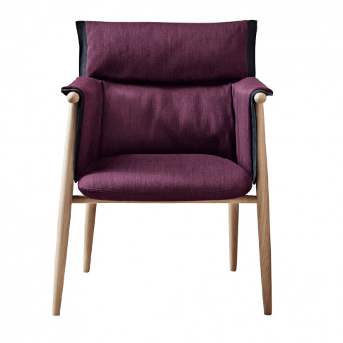 E005 Embrace Dining Chair Soaped Oak & Fabric