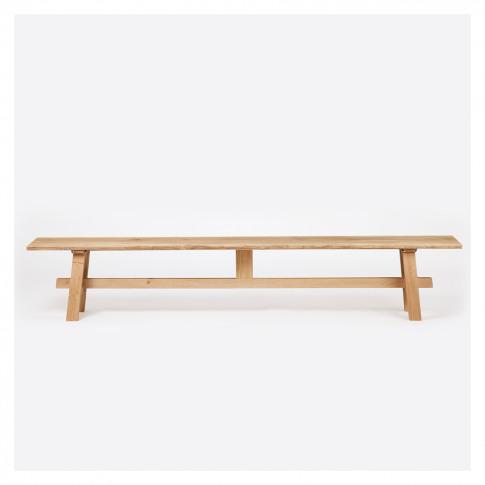 Pendle Bench Oak 250cm