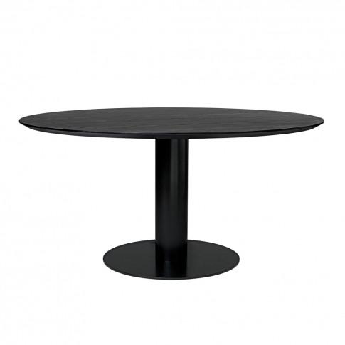 Gubi 2.0 Dining Table Black & Wood Large