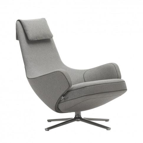 Repos Armchair Cosy Fabric Pebble Grey