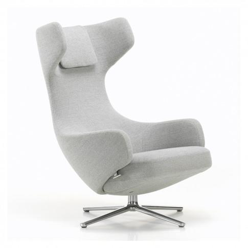 Grand Repos Armchair Dumet Fabric Beige Grey