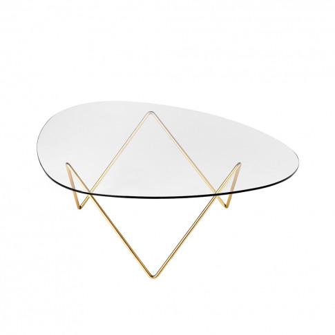 Pedrera Coffee Table Brass