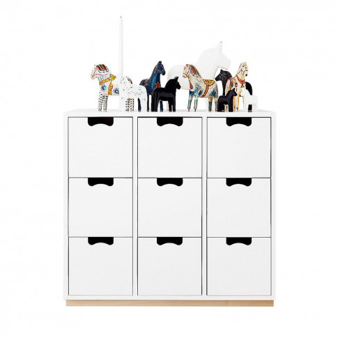 Snow B3 Storage Unit Birch Base 47 Taupe