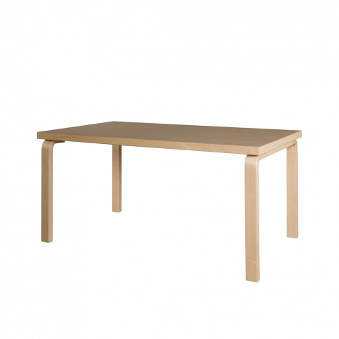 82a Aalto Dining Table 150cm Birch