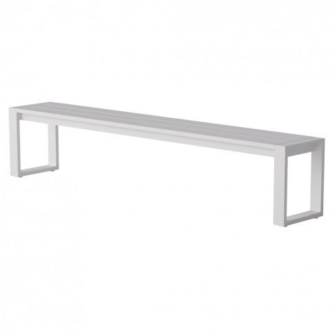 Eos Communal Bench In White