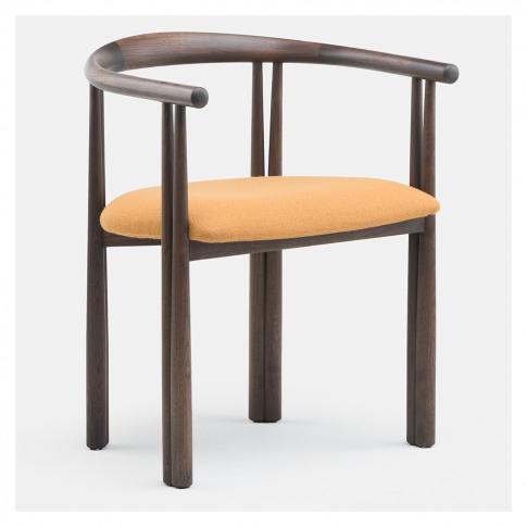 056 Elliot Dining Chair Black Walnut