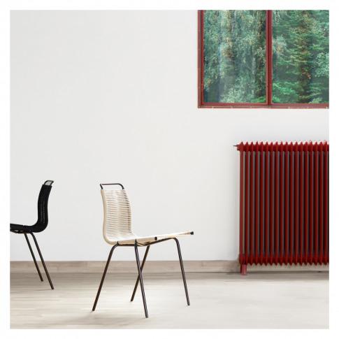Pk1 Dining Chair Black Frame & Black Cord