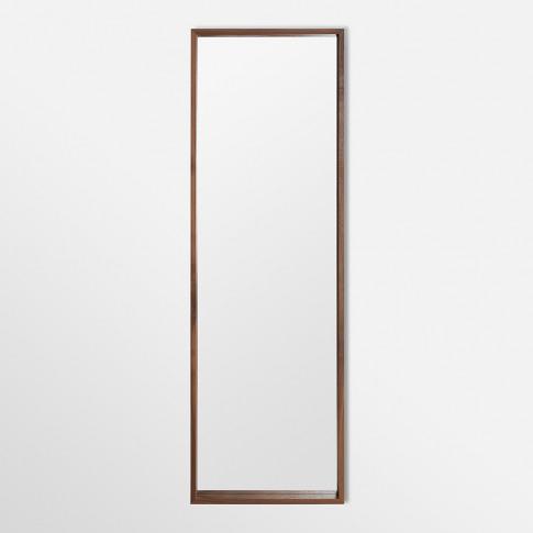 Peg Mirror Walnut Medium