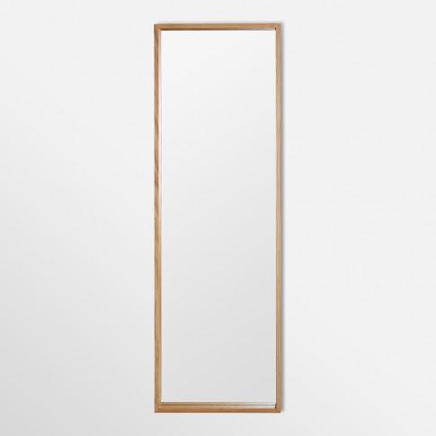 Peg Mirror Oak Medium