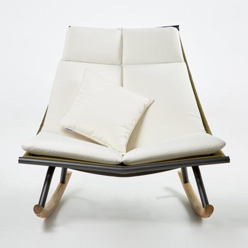 Laze 003 Rocking Chair Smoke & Olive