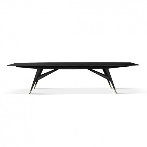 D.859.1a Dining Table Stained Black Ash