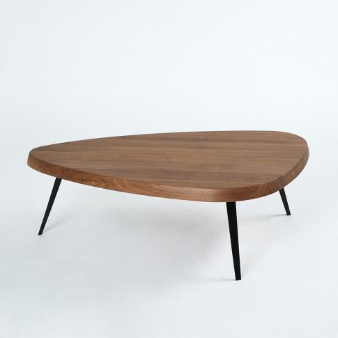 527 Mexique Coffee Table In Walnut & Black