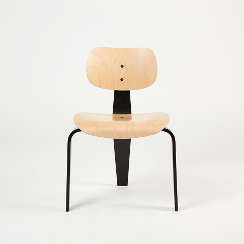 Se42 Dining Chair Natural Beech & Black