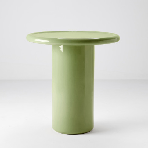 Tall Mag Side Table In Green