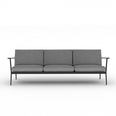 Eos 3-Seater Sofa In Black