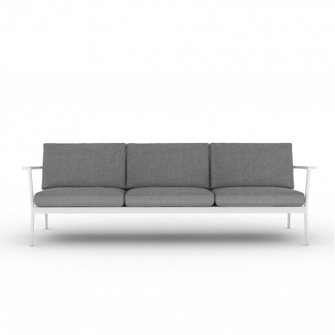 Eos 3-Seater Sofa In White