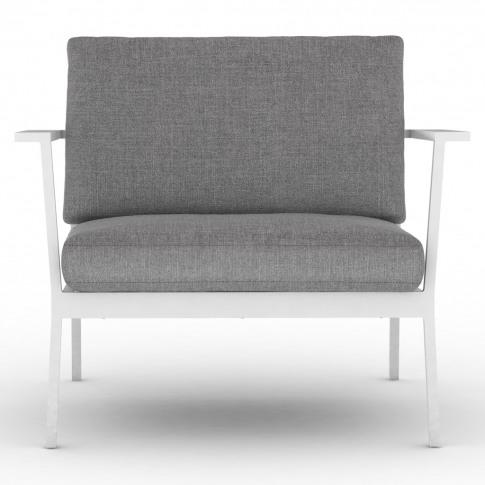 Eos Sofa Armchair In White