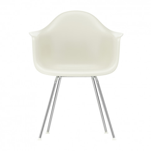 Dax Plastic Armchair Pebble & Chrome