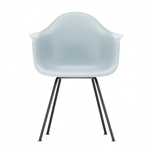 Dax Plastic Armchair Ice Grey & Dark