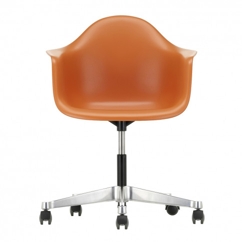 Pacc Plastic Armchair Rusty Orange