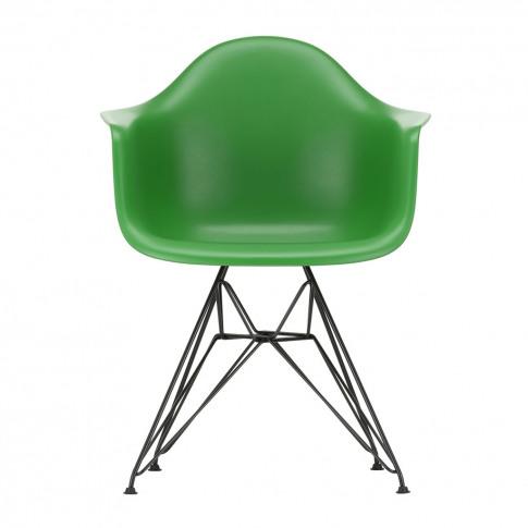 Dar Plastic Armchair Green & Dark