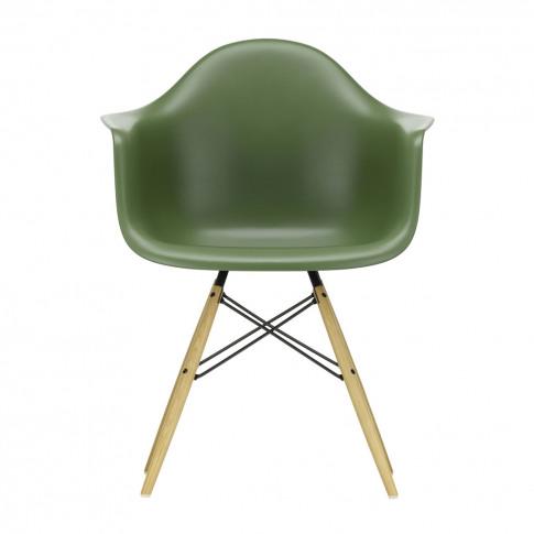Daw Plastic Armchair Forest & Golden Maple